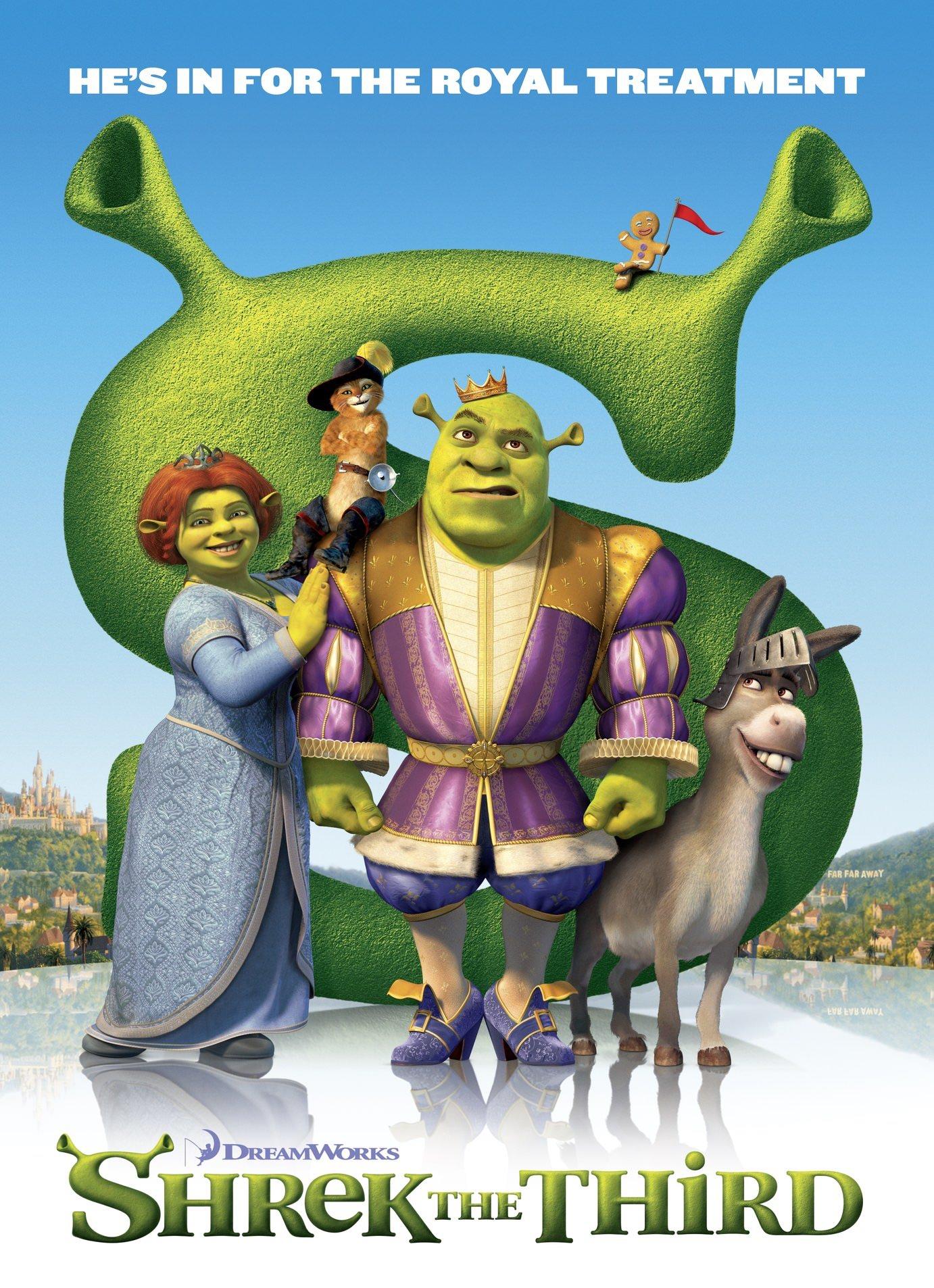 Shrek troisieme miler hui