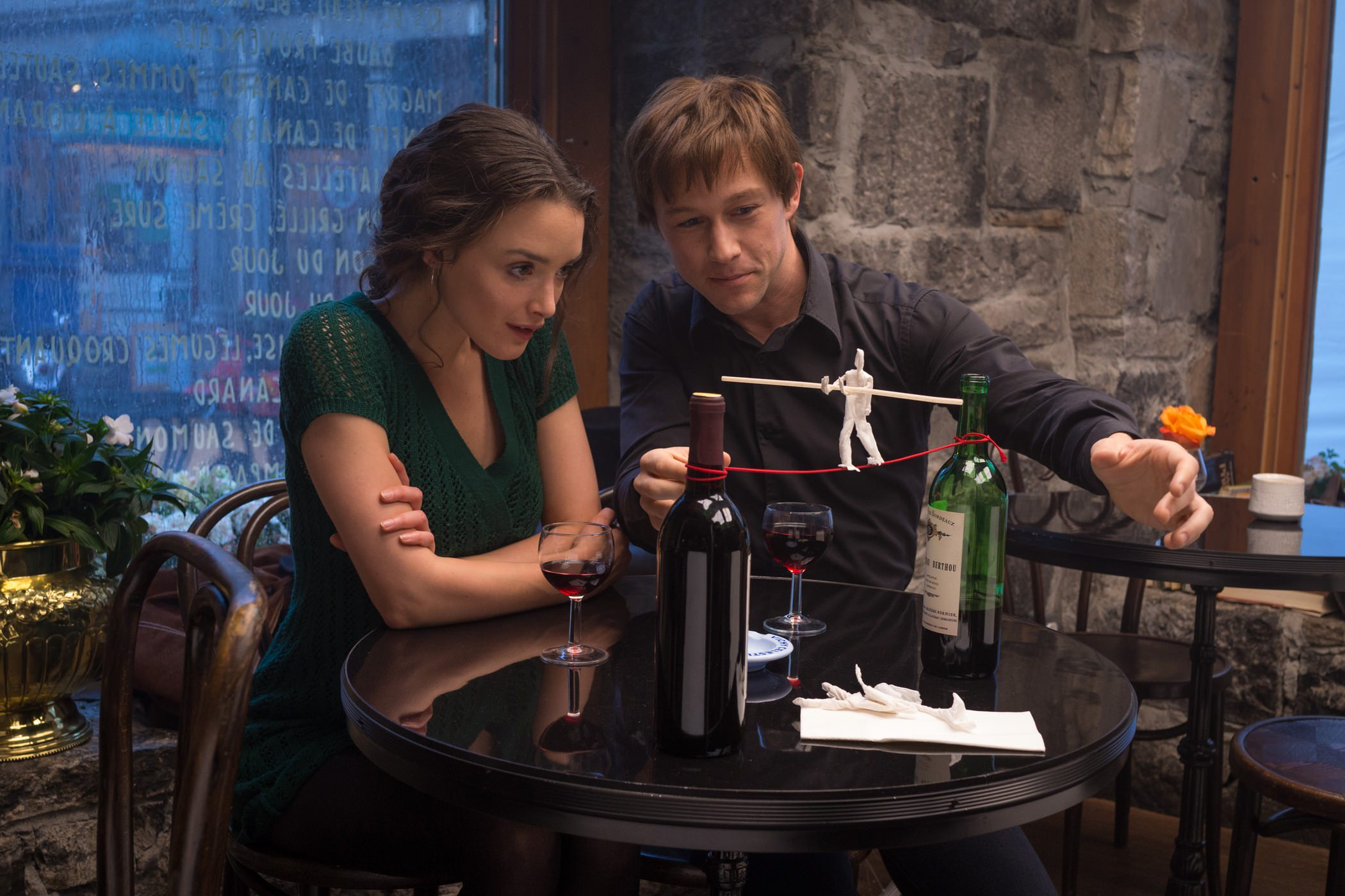The Walk : Rêver plus haut — Charlotte Le Bon et Joseph Gordon-Levitt